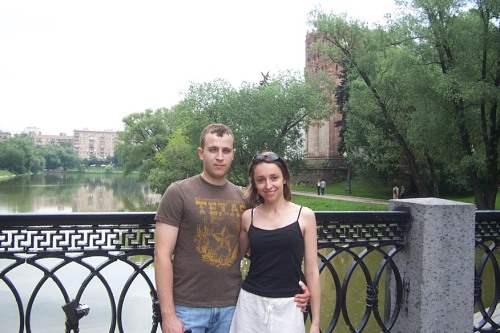 Kate and Mike, Moscow, Russian Federation, 2008