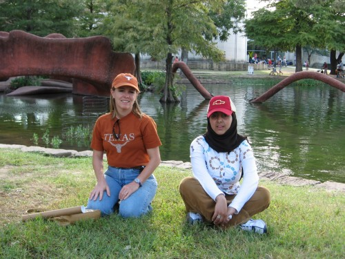 Terri and Shadi, Texas State Fair, 2007