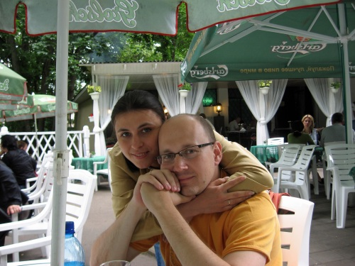 Olga and Pavel, Arkhangelskoe, Russian Federation, 2008