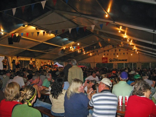 The Big Tent, Wurstfest, New Braunfels, Texas, 2008