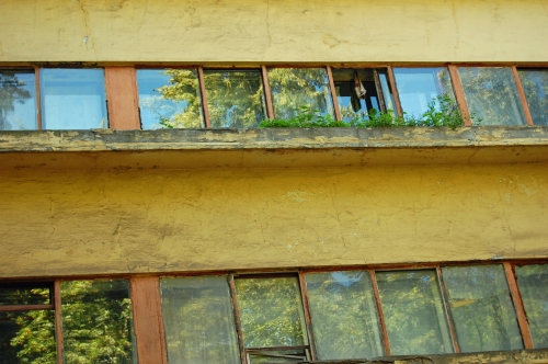 Window Detail, Narkomfin, Moscow, Russian Federation, 2009